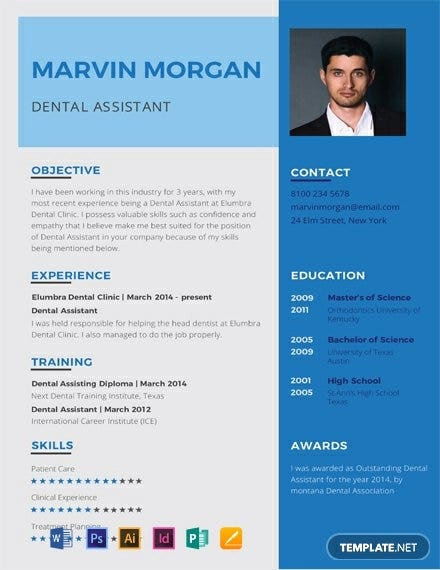 dental assistant resume templates word apple free premium template paper color tax office Resume Free Dental Resume Templates