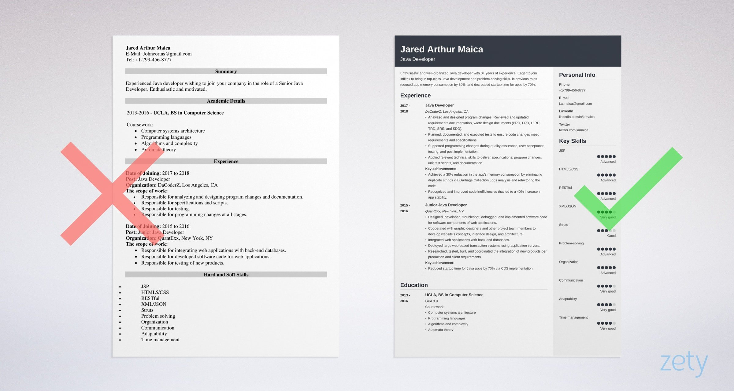 developer resume sample level to senior years experience example release engineer good Resume Java Developer Resume 8 Years Experience