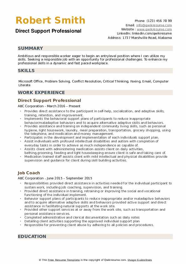 direct support professional resume samples qwikresume pdf horticulture manager put on Resume Direct Support Professional Resume