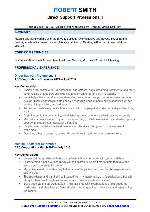 direct support professional resume samples qwikresume pdf phone number on of book best Resume Direct Support Professional Resume