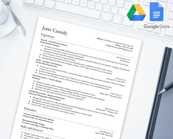 distinguished resume template for google docs drive etsy il 570xn 30lw assassin flight Resume Google Drive Resume Template