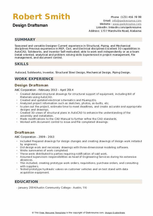draftsman resume samples qwikresume civil model pdf better cost controller for first time Resume Civil Draftsman Resume Model