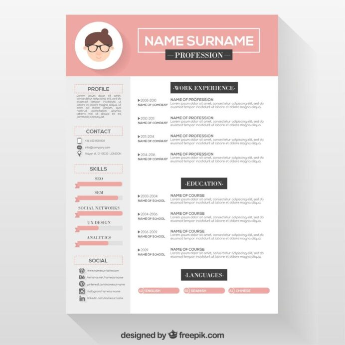 editable cv format file free creative resume template graphic design action verbs yale Resume Resume Template Format Download