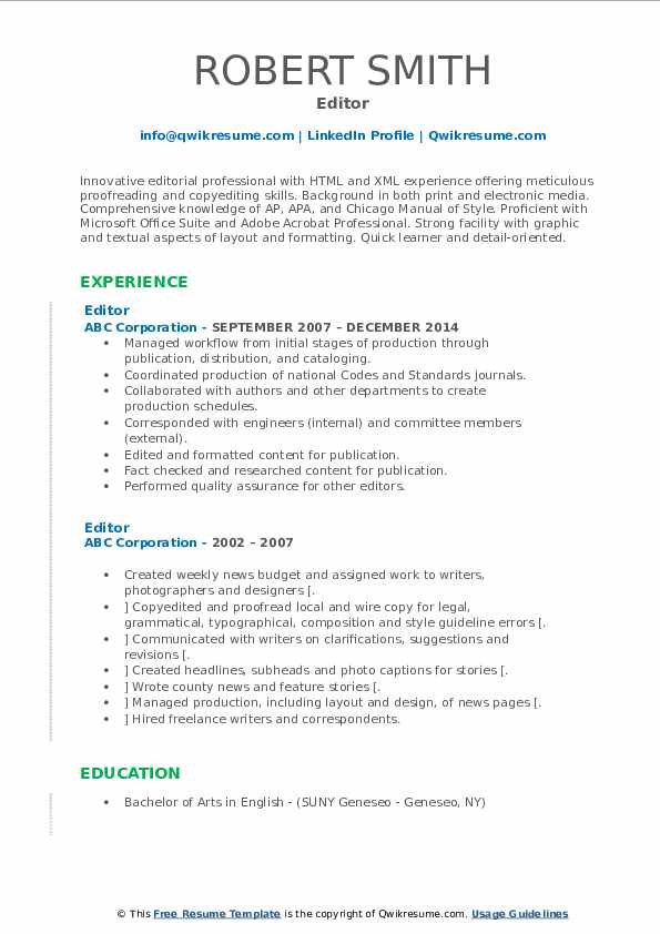 editor resume samples qwikresume resumes for writers and editors pdf sample objective any Resume Resumes For Writers And Editors