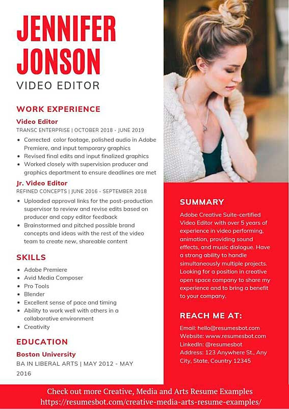 editor resume samples templates pdf resumes bot for writers and editors example soc Resume Resumes For Writers And Editors