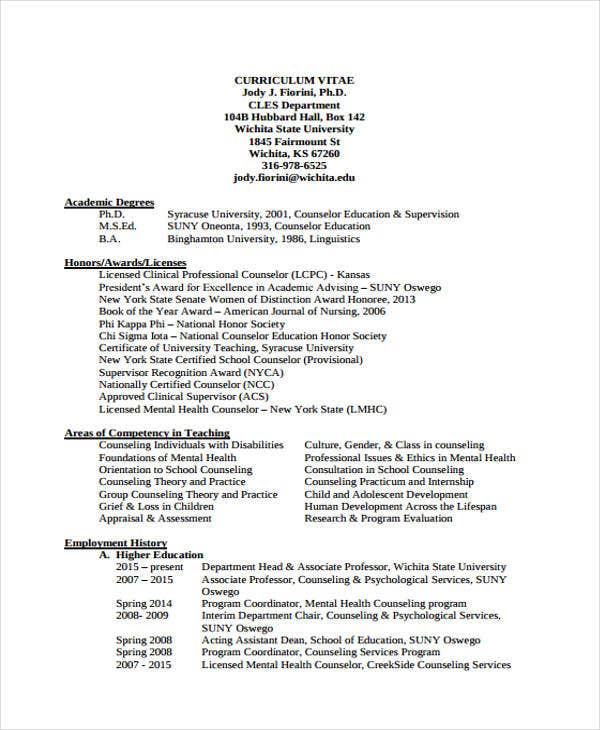 education resume templates pdf free premium for practicum student counseling counselor Resume Resume For Practicum Student Counseling