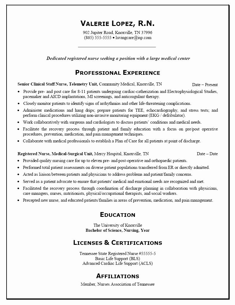 entry level nurse practitioner resume awesome template personal nursing examples rn Resume Entry Level Nurse Practitioner Resume Template