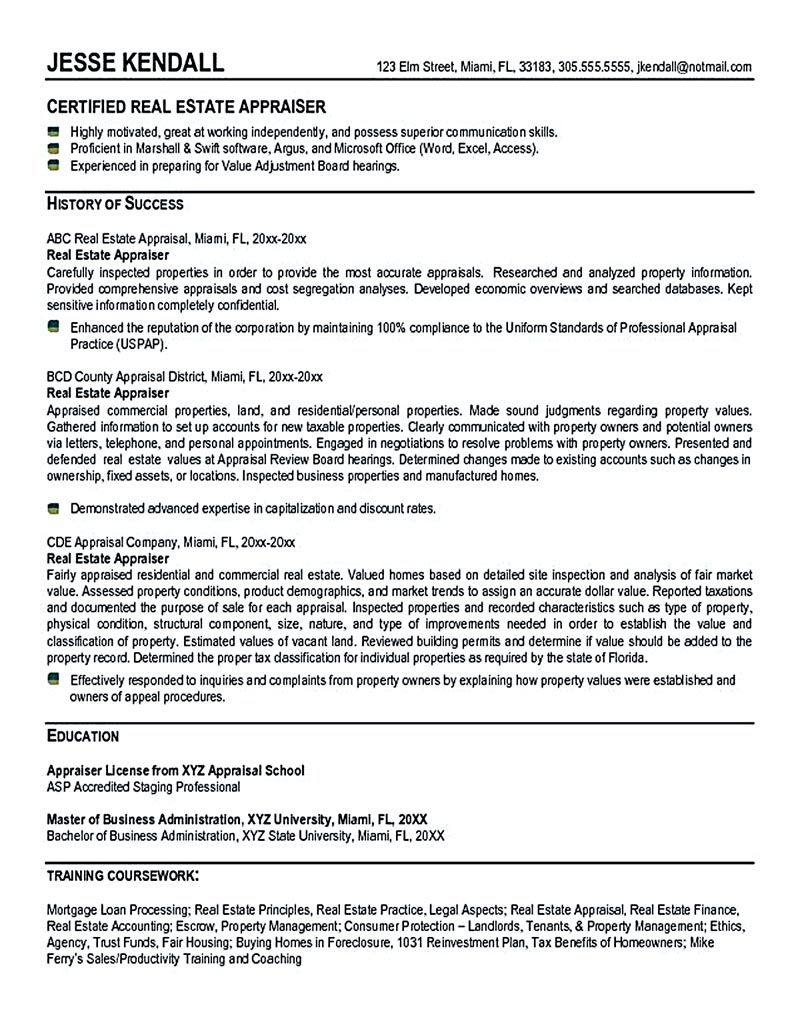 estate resume is commonly used for professional have experience and knowledge related to Resume Real Estate Broker Resume