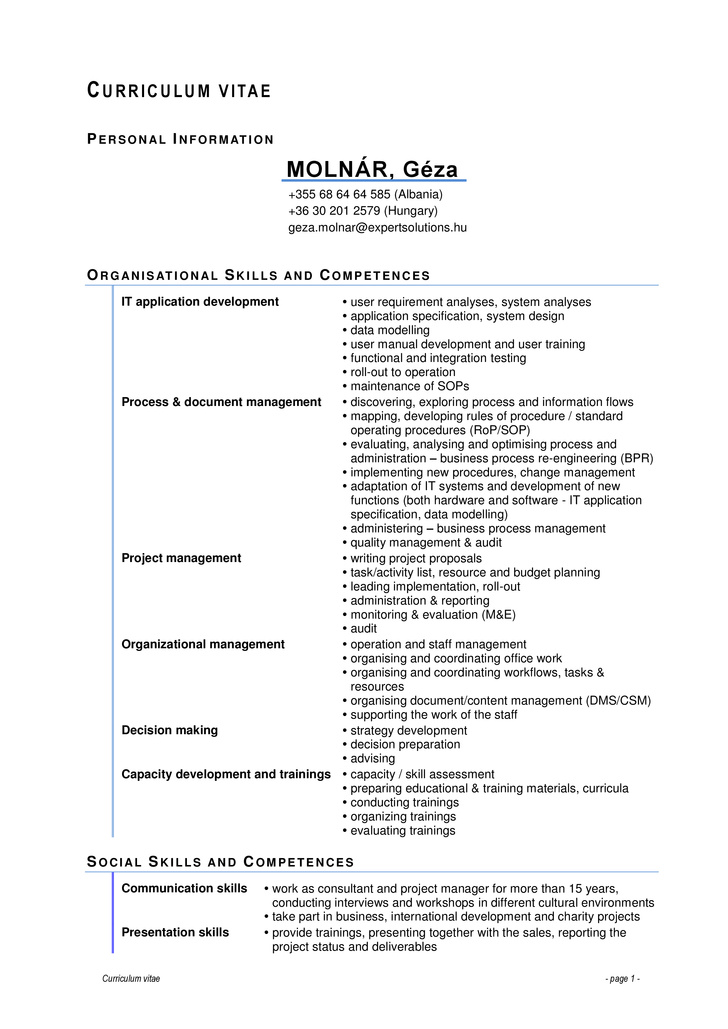 excellent presentation skills resume january for molnr gza cv full software quality Resume Presentation Skills For Resume