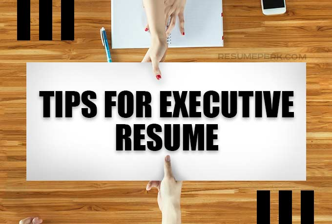executive resume tips from resumes writing services resumeperk level gas station special Resume Executive Level Resume Writing Services