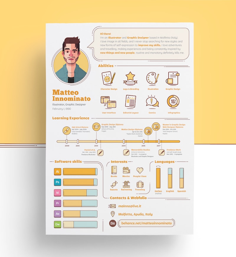 expert resume design ideas from hiring manager graphic designer creative template copy Resume Graphic Designer Resume Design