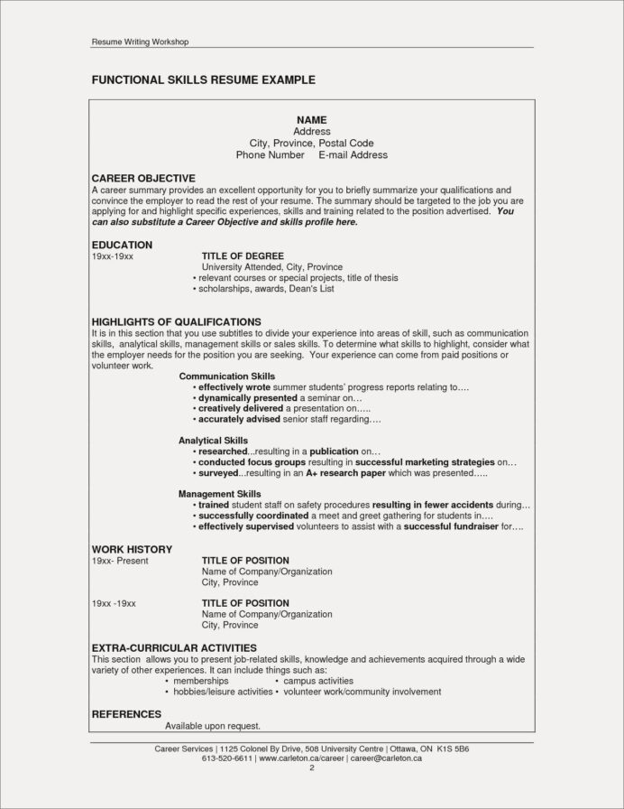 extra curricular activities for resume elegant co skills section good examples template Resume Resume Template With Reference Section