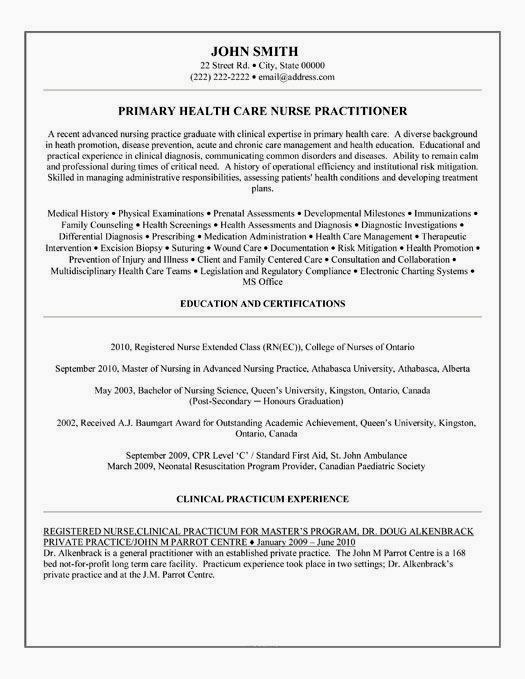 family nurse practitioner resume examples free templates of creative job entry level Resume Family Nurse Practitioner Resume