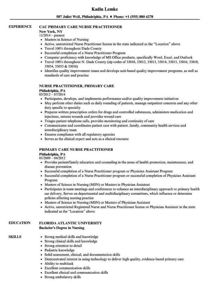 family nurse practitioner resume examples hire builder banking domain perfect summary for Resume Family Nurse Practitioner Resume