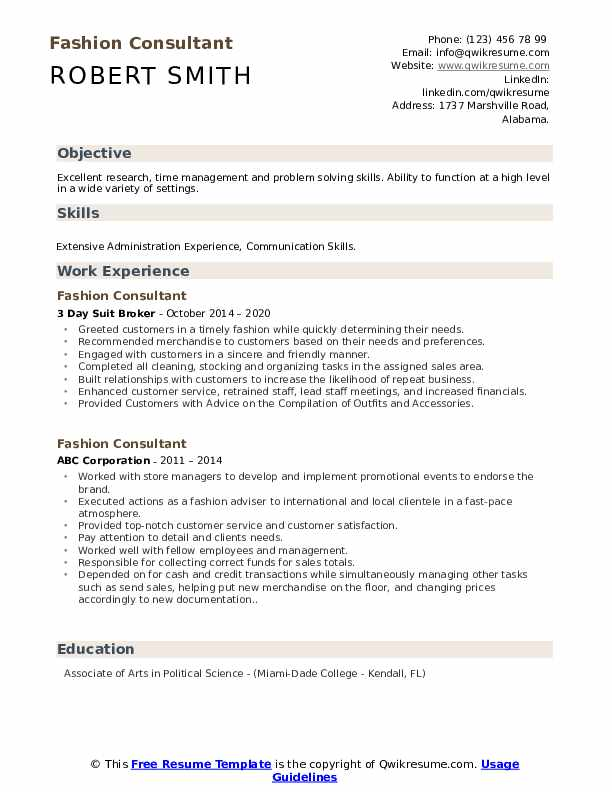 fashion consultant resume samples qwikresume model template pdf immigration services Resume Fashion Model Resume Template