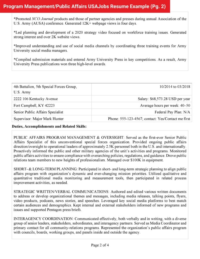 federal jobs resume example pm pa usajobs pg community service worker linkedin ats hotel Resume Federal Resume Example 2020