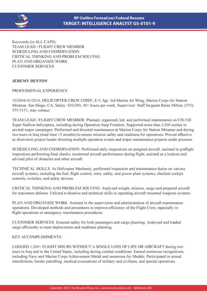 federal resume samples place example sample hotel writing biden customer care Resume Federal Resume Example 2020
