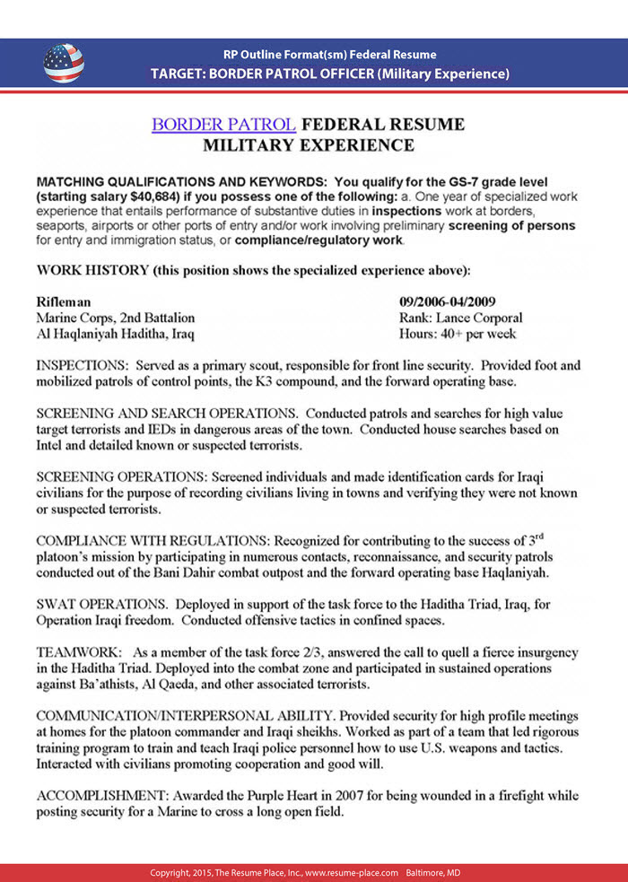 federal resume samples place guidebook sample 5x4 technical lead medical technologist Resume Federal Resume Guidebook