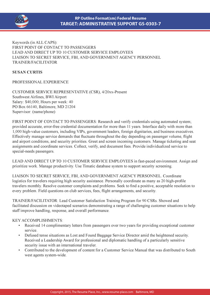 federal resume samples place guidebook sample customer service hard skills chef examples Resume Federal Resume Guidebook