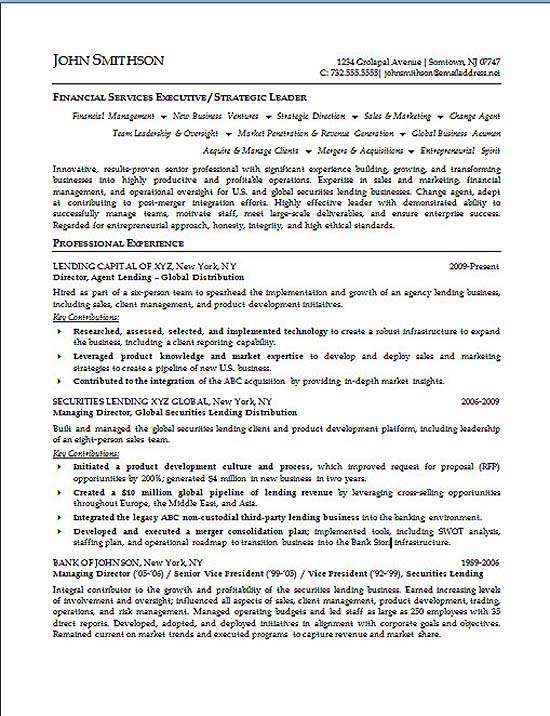 financial executive resume example professional service s3a finance valet parking aml Resume Professional Executive Resume Service