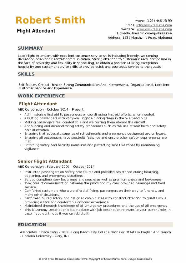 flight attendant resume samples qwikresume examples pdf owl warehouse operations manager Resume Flight Attendant Resume Examples
