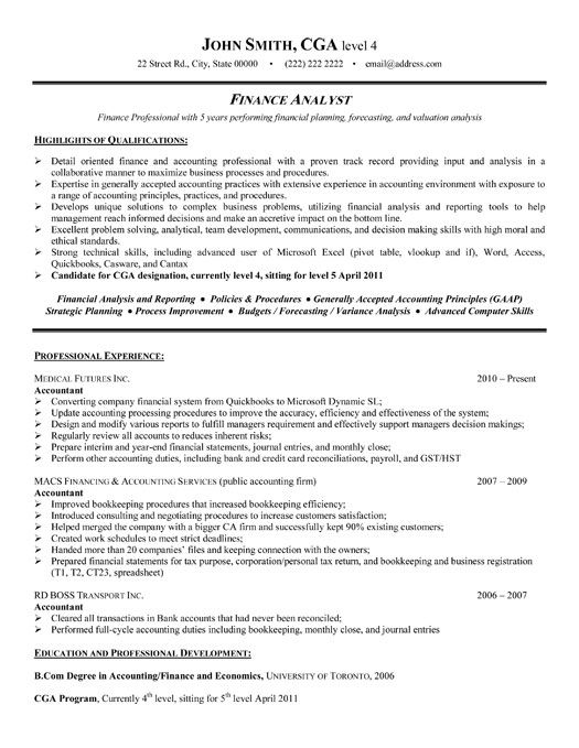 for financial analyst resume samples format sample functional free paralegal templates Resume Financial Analyst Resume Sample