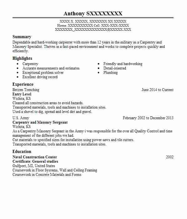for resume samples entry level format journalist the art of writing great summary Resume Entry Level Resume Format