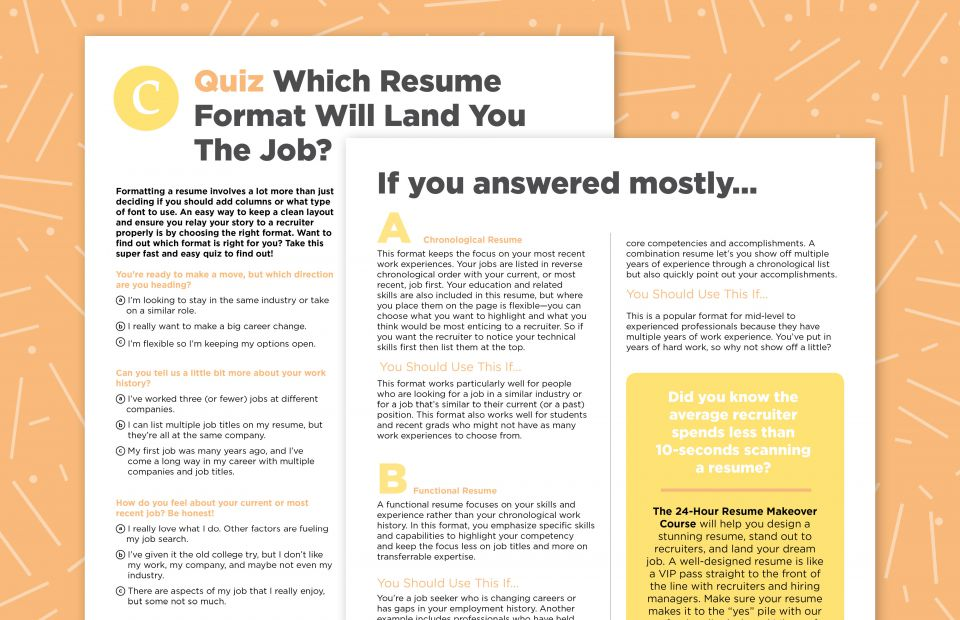 formatting your resume like this can help you land the job career contessa layouts that Resume Resume Layouts That Stand Out