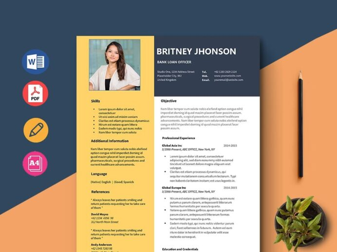free bank loan officer resume template with clean and simple look job description tips Resume Loan Officer Resume Job Description