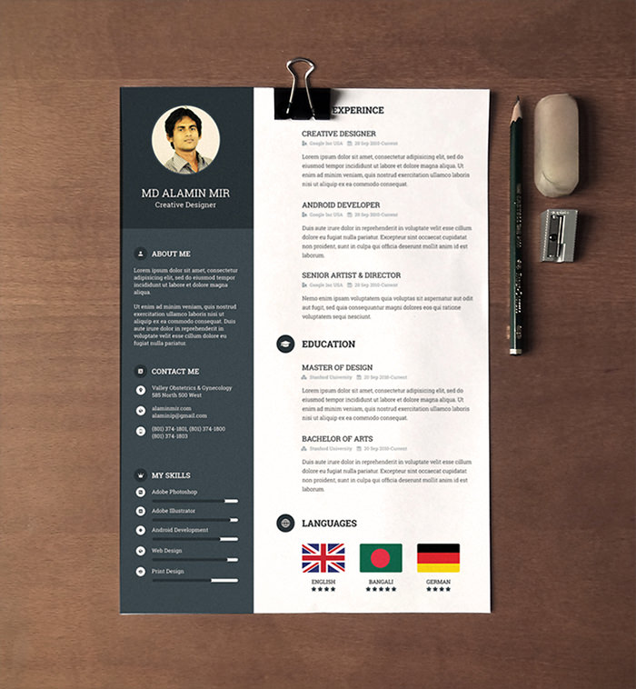 free beautiful resume templates to hongkiat attractive leadership statements data science Resume Free Attractive Resume Templates