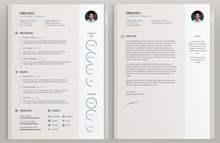 free beautiful resume templates to hongkiat pretty healthcare coo plant manager bar Resume Pretty Resume Templates