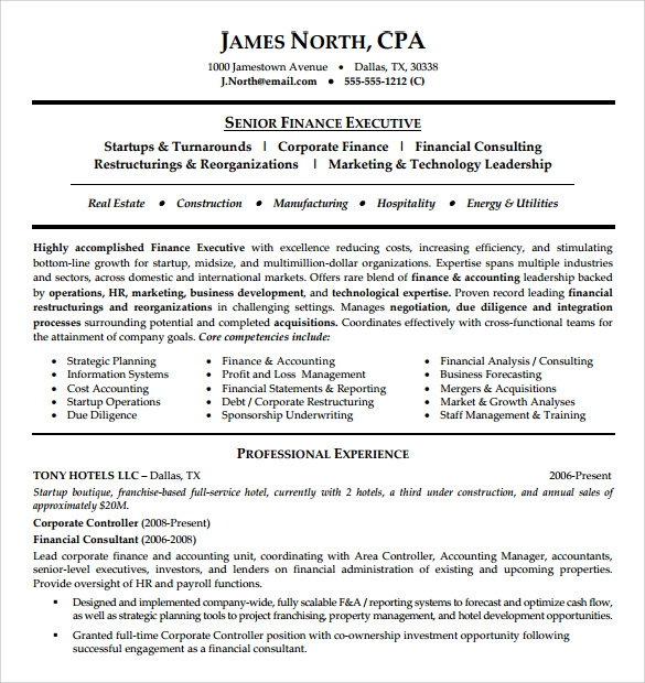 free consultant resume templates in pdf word business sample financial example medical Resume Business Consultant Resume Sample