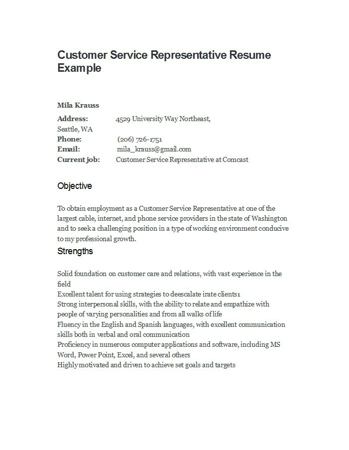 free customer service resume examples template downloads terms for electrical supervisor Resume Resume Terms For Customer Service