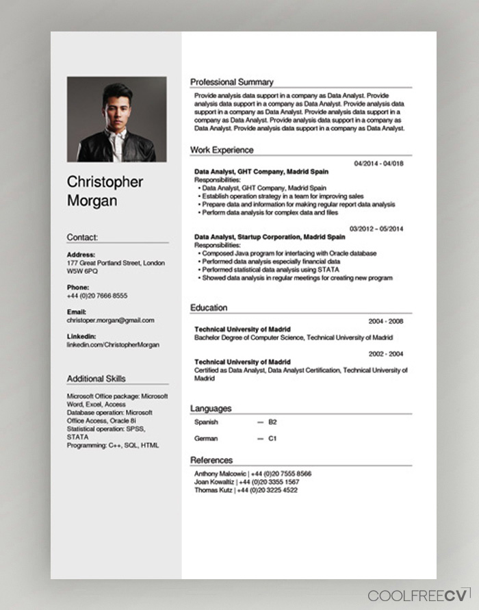 free cv creator maker resume builder pdf provide synonym barista skills can put on best Resume Resume Builder Free Pdf