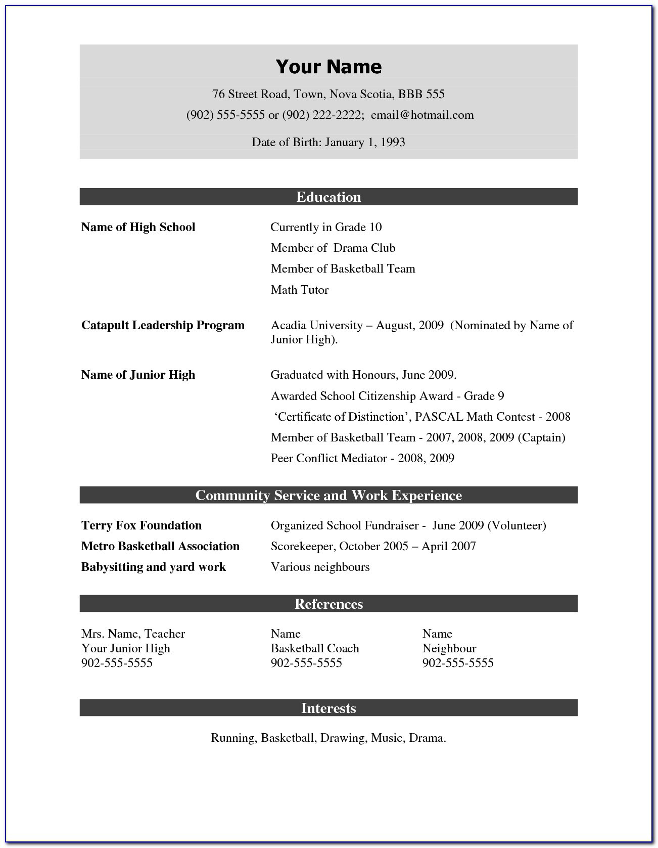 free cv format pdf vincegray2014 resume executive director mental health technician Resume Free Resume Format Pdf