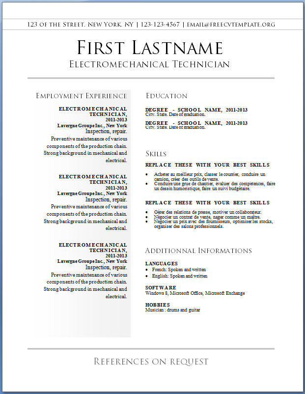 free cv templates to get make resume and template accounting objective statements Resume Make Free Resume And Download
