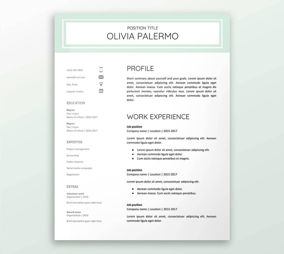 free google docs resume templates drive alternatives best template special education Resume Best Google Doc Resume Template