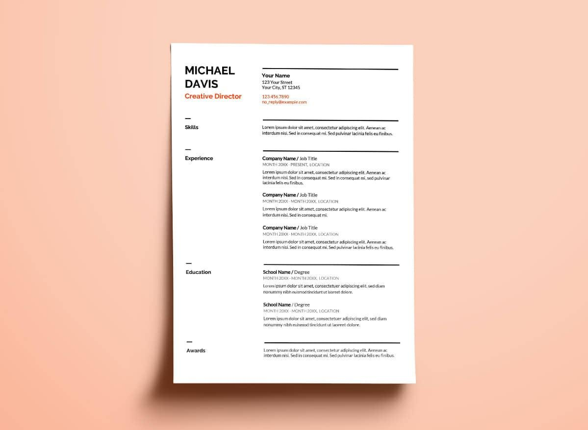 free google docs resume templates drive alternatives sheets template technical examples Resume Google Sheets Resume Template