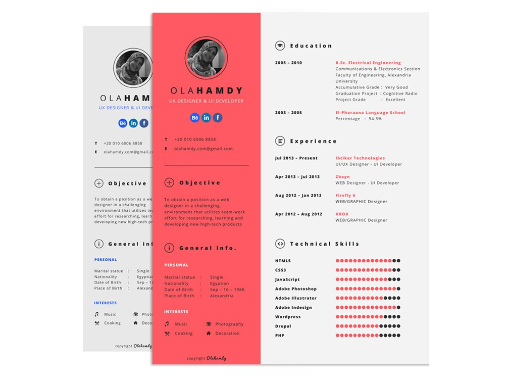 free interactive resume template with clean design samples bpt format sorority on example Resume Interactive Resume Samples