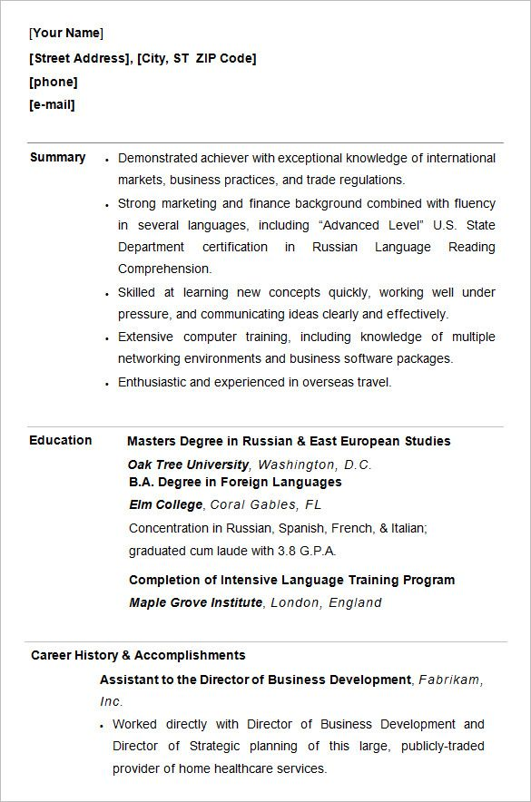 free premium templates student resume template college for students objective on medical Resume Free Resume For College Students