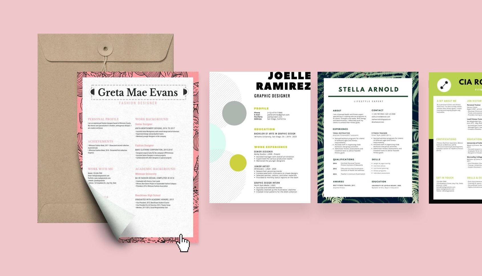 free resume builder design custom in canva one creator freelance graphic examples Resume One Page Resume Creator