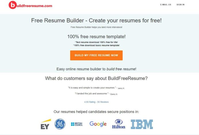 free resume builder for easy fast reviews auto damage appraiser handwritten copy and Resume Online Resume Builder Reviews