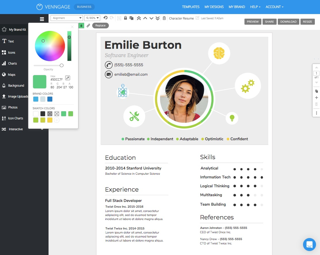free resume cv maker get started in minutes make your simple college student template Resume Make Your Resume Online Free