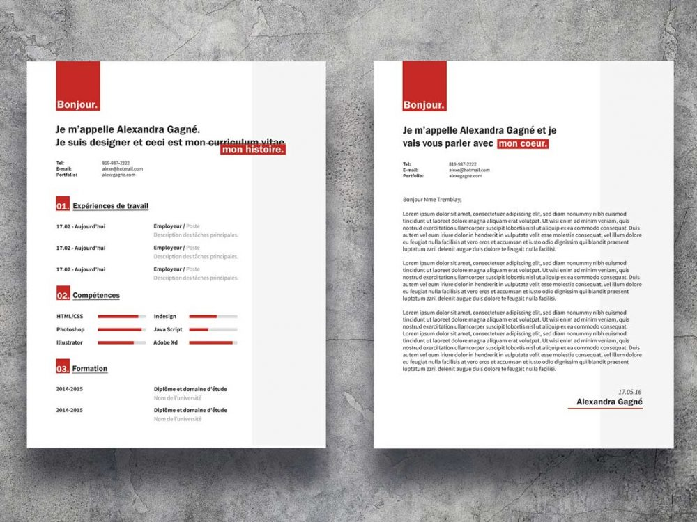 free resume cv template with cover letter in word format resumekraft trendy 1000x750 Resume Resume Cover Letter Template Free