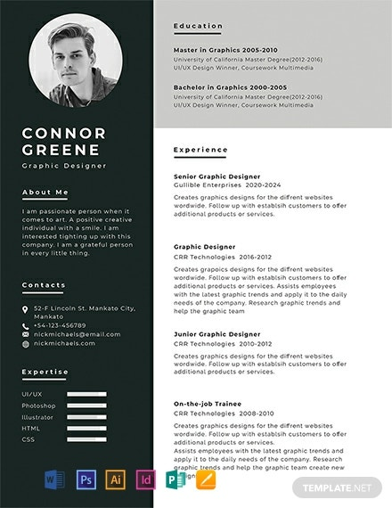 free resume cv templates word indesign apple publisher illustrator template net and Resume Cv And Resume Templates Free