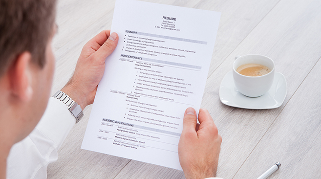 free resume databases for employers search quality candidates resumes recruiter reviewing Resume Online Resumes For Employers
