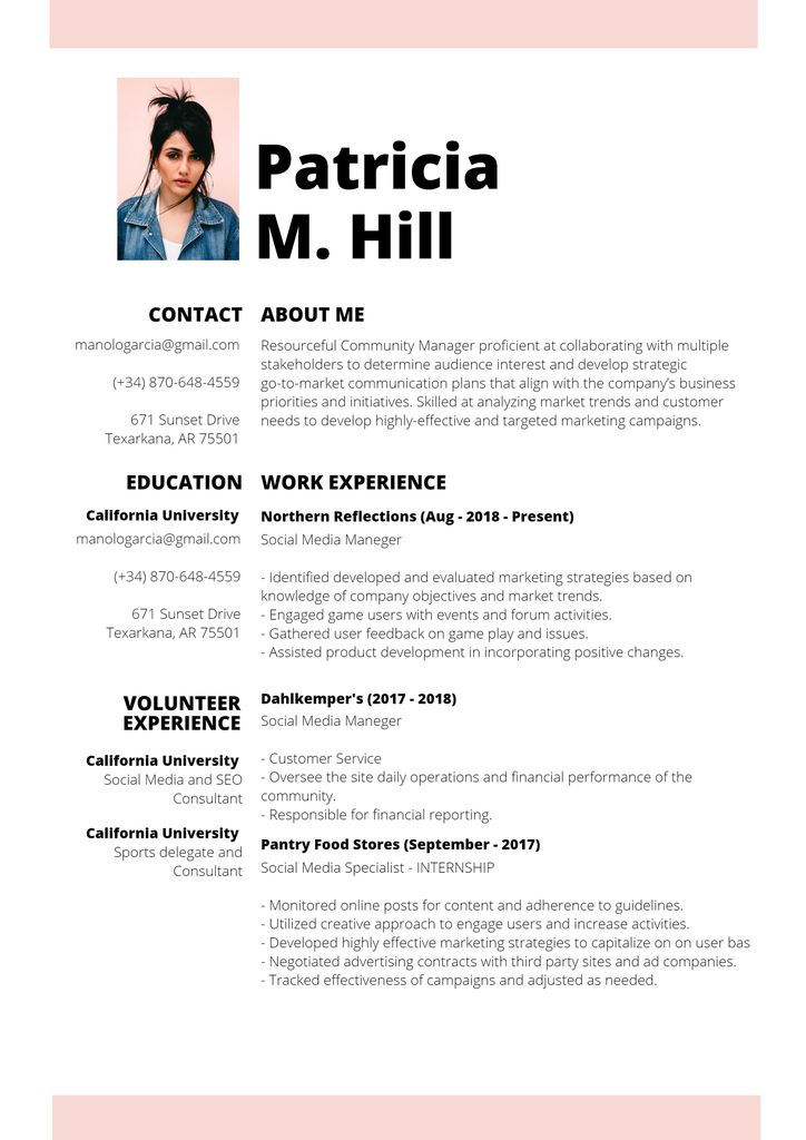 free resume editor upload old and edit pink template case management experience Resume Upload Old Resume And Edit
