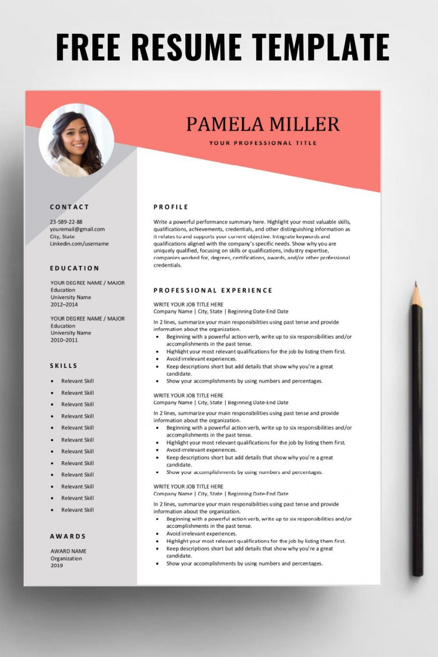 free resume template addictionary best templates word formidable high startup recent Resume Best Resume Templates 2020 Free Download Word