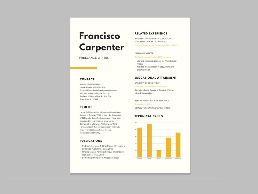 free resume template for freelance writer administrative assistant secretary stanford Resume Freelance Writer Resume Template