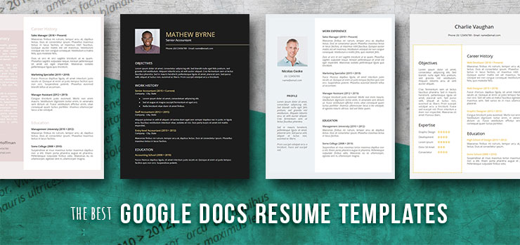 free resume templates for google docs freesumes best pizza objectives starbucks example Resume Best Google Resume Templates